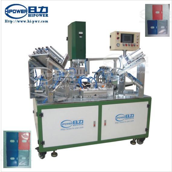 hc 4215d 6ac automatic turntable ultrasonic welding machine