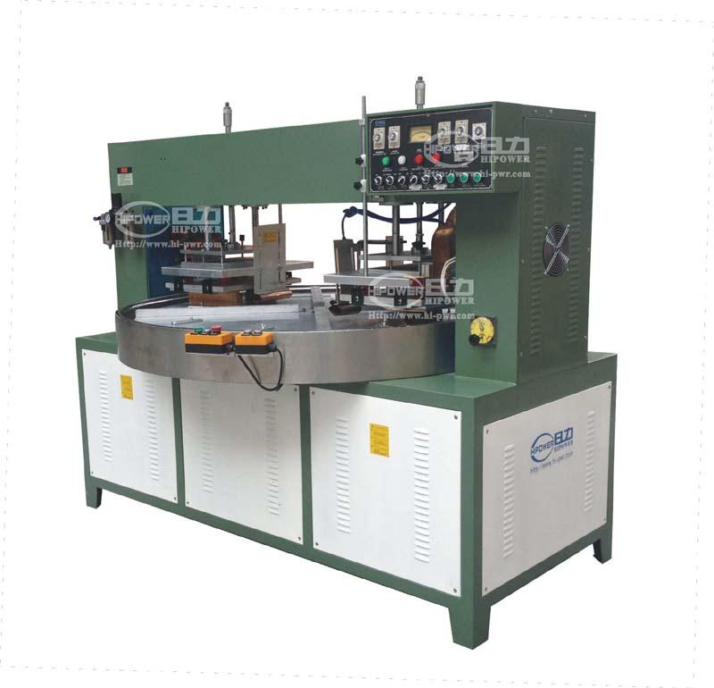 Cnc Welding Supplier South Africa: Turn Table High Frequency Plastic Welding Machine For PVC