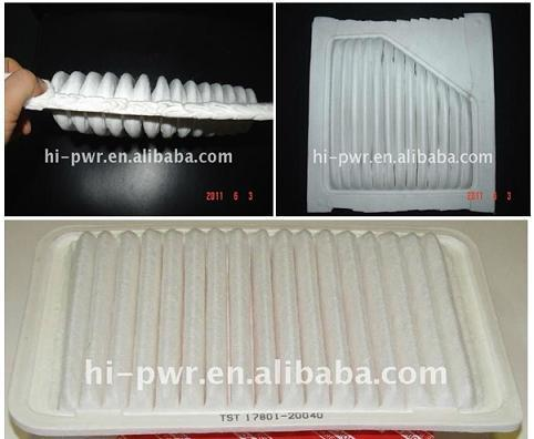 HF welding machine for car air filter