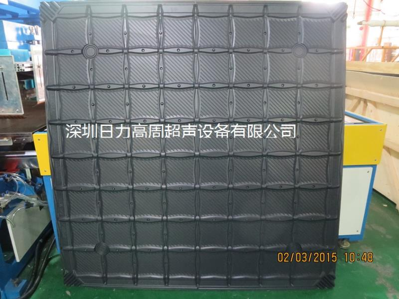 H.F cooling tower packing welding machine