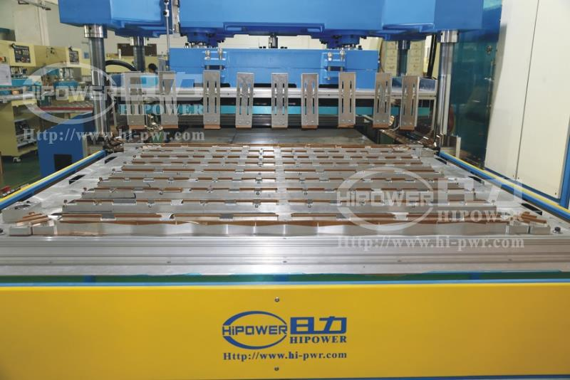 industrial cooling tower packing welder