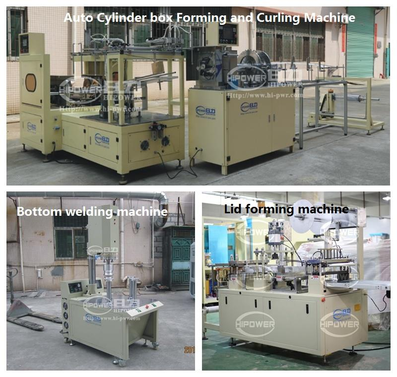 views of cylinder forming machines